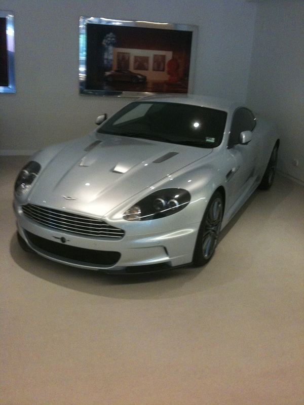 Aston Martin DBS by Automotive integration.
