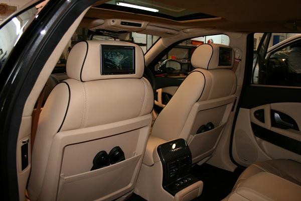 Maserati Qattroporte by Automotive Integration.