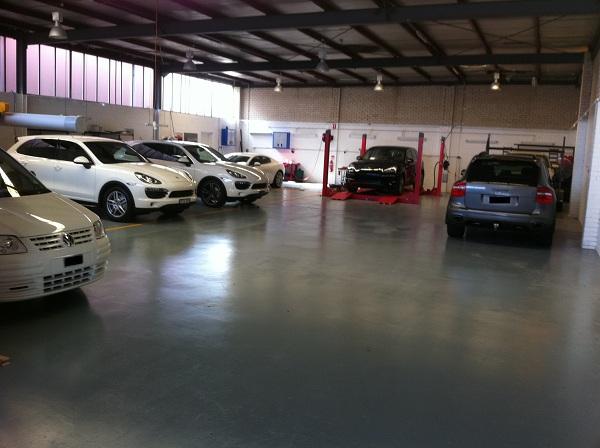 Automotive Integration's workshop.