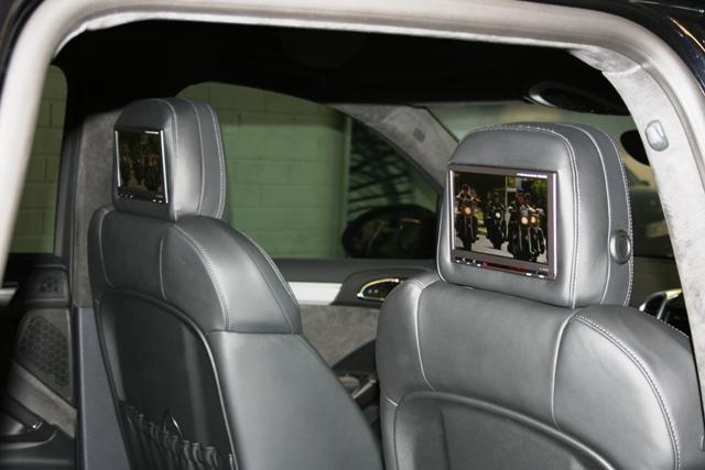 porsche cayenne rear seat entertainment from automotive. Black Bedroom Furniture Sets. Home Design Ideas