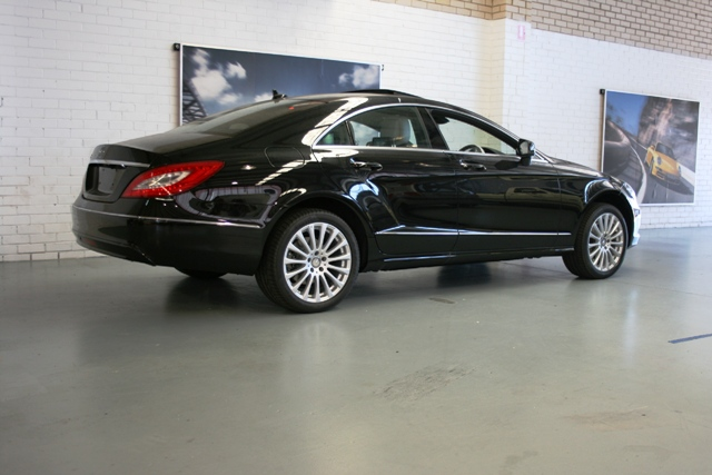 The new Mercedes CLS.
