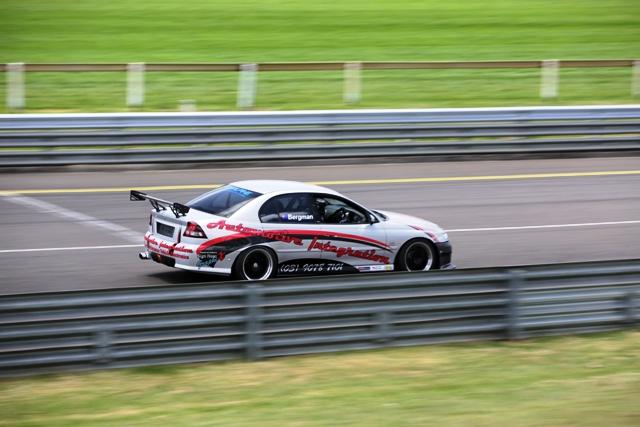 Automotive Integration's race car.