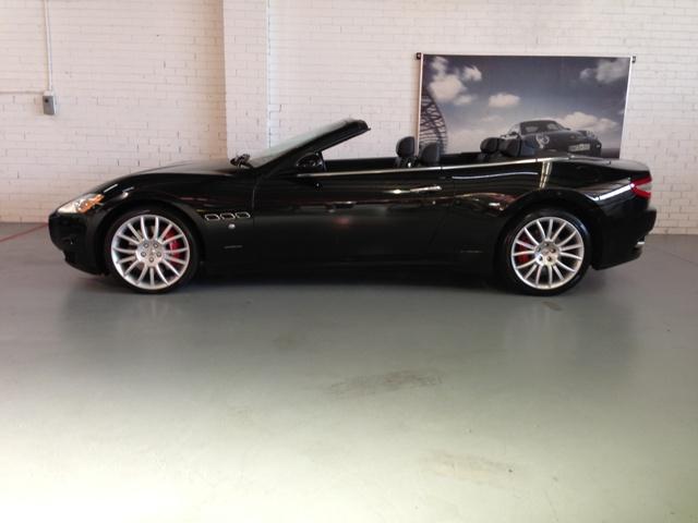 The stunning Maserati Grancabrio.