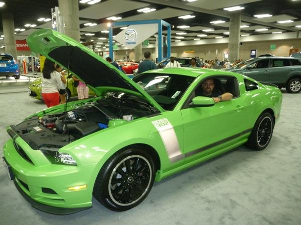 The BOSS 302 Mustang.