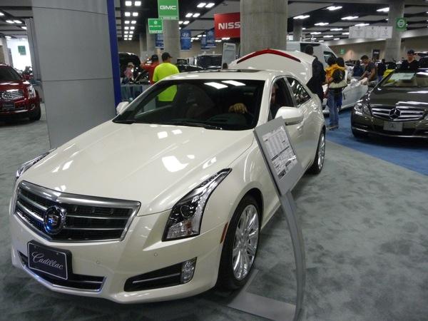 The new Cadillac XTS.