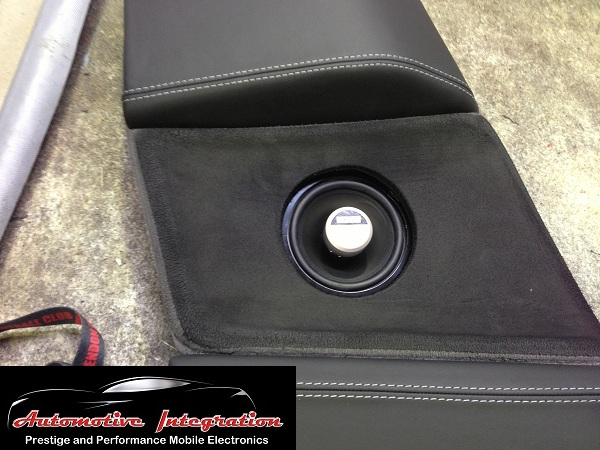 The rear side panels were customised to fit the new German Maestro speakers