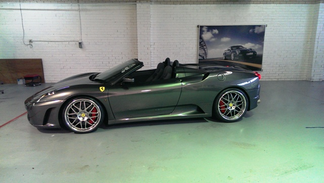 The F430 Spider.