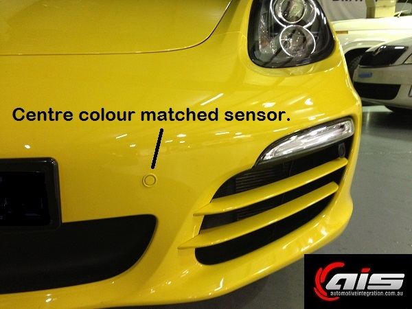 The professionally colour coded sensors are an exact match.