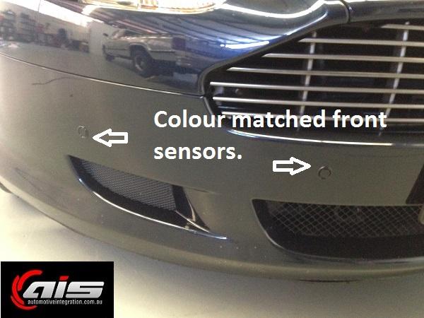 The flush mounted sensors are virtually unnoticeable.