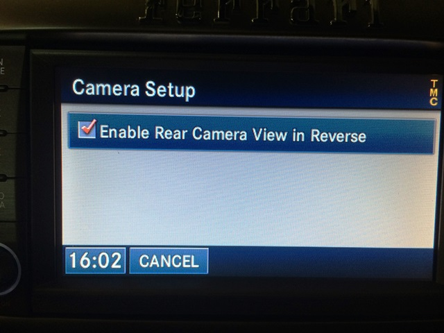 The camera can be manually disabled in the camera option screen.