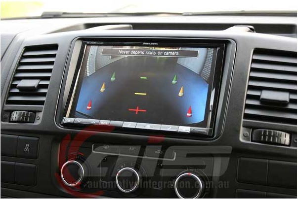 Rear view camera adds safety and peace of mind for the driver.