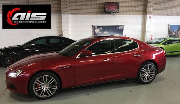 The Gorgeous 2017 Maserati Ghibli