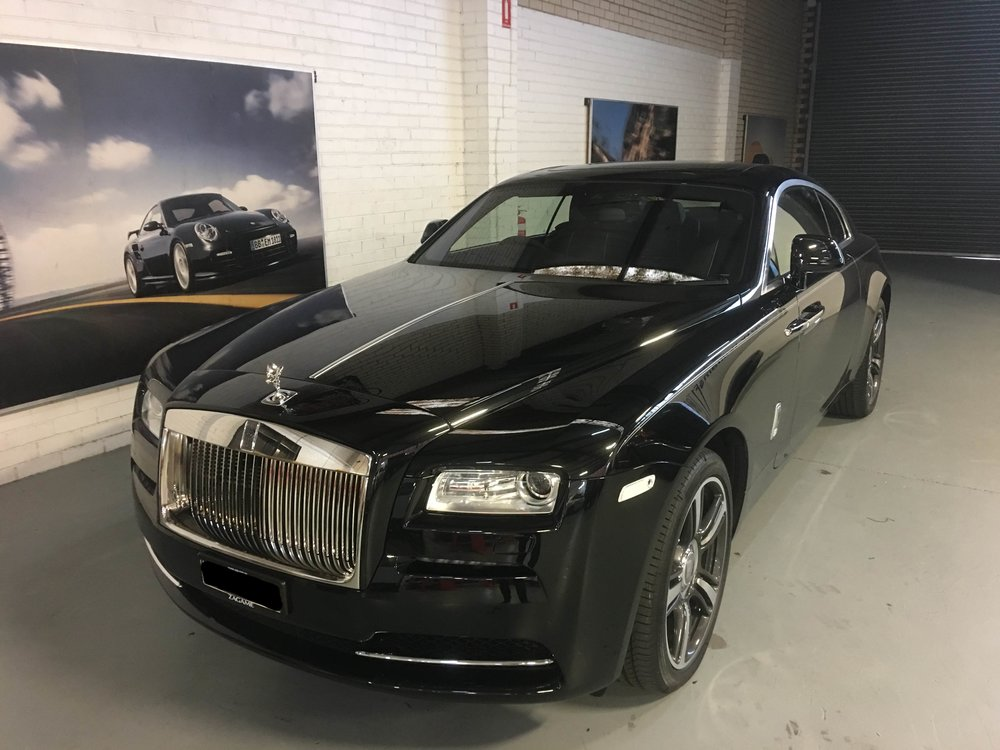 A Blackvue 650S2CH installed discreetly into a Rolls Royce Wraith