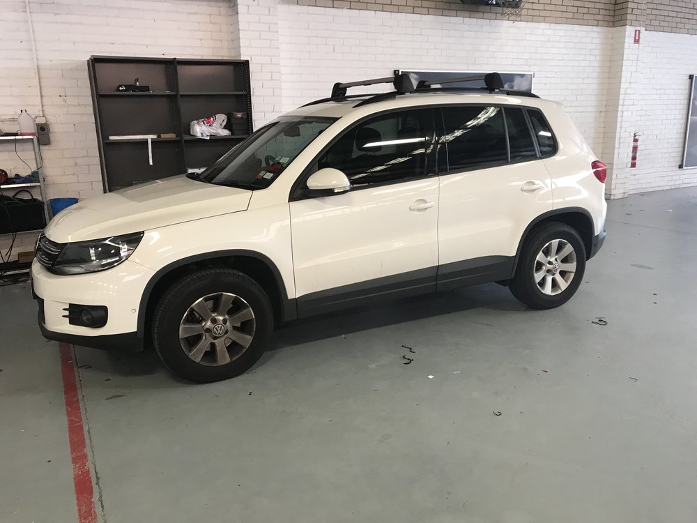 The reliable and durable VW Tiguan.