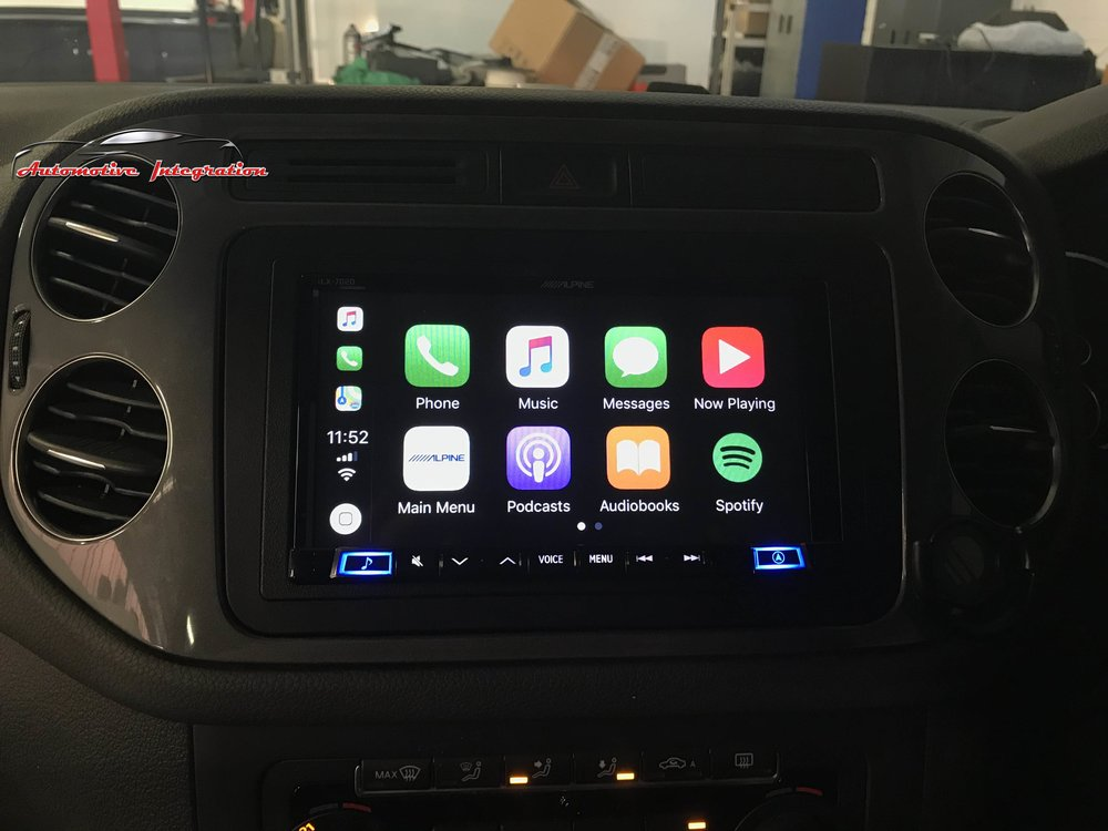 The Apple Carplay system is intuitive and easy to use