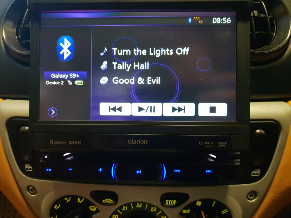 Bluetooth streaming gives you full control of your music from the radio - no need to touch your phone