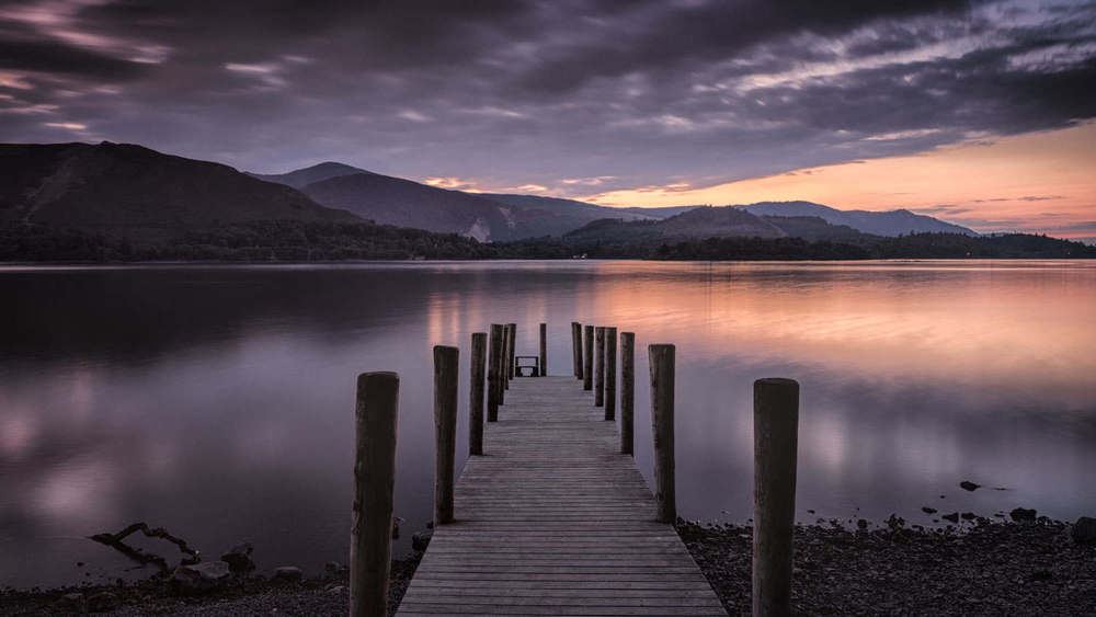 derwent water - lake district nov
