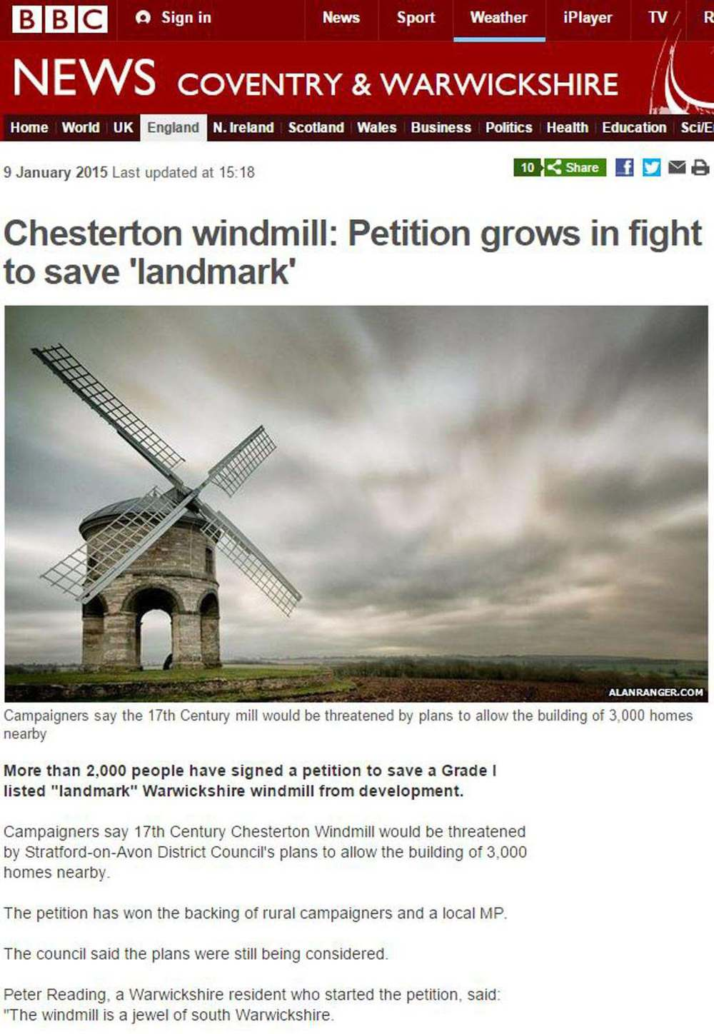 save chesterton