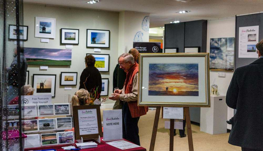 Private Viewing save chesteron art exhibition