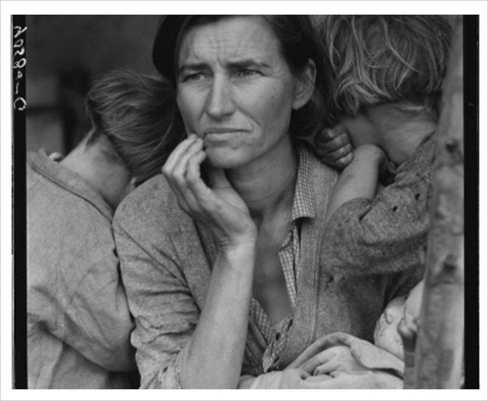Lange's 1936, Migrant Mother