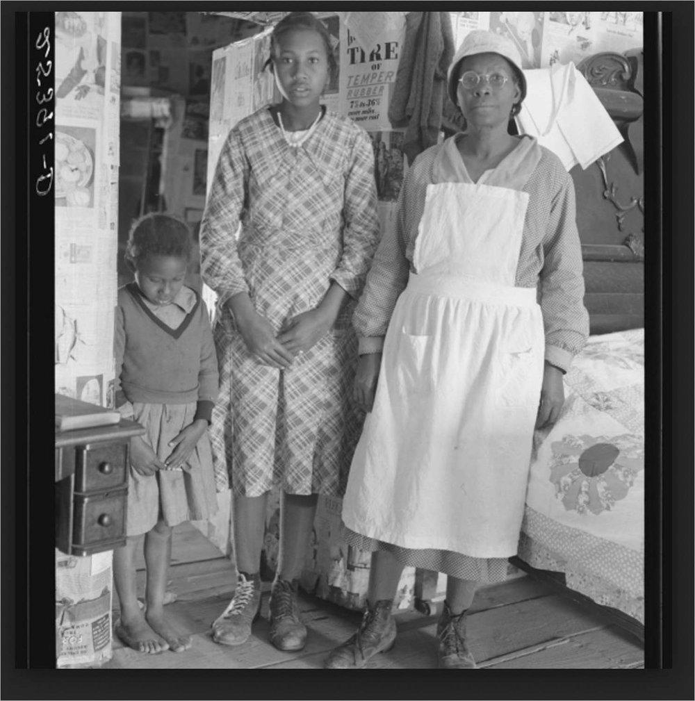 Inhabitants of Gees Bend, Alabama