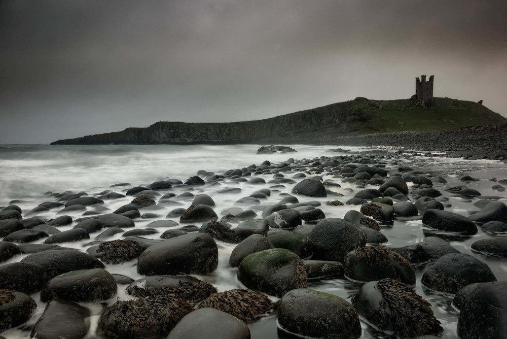 dunstanburgh boulders
