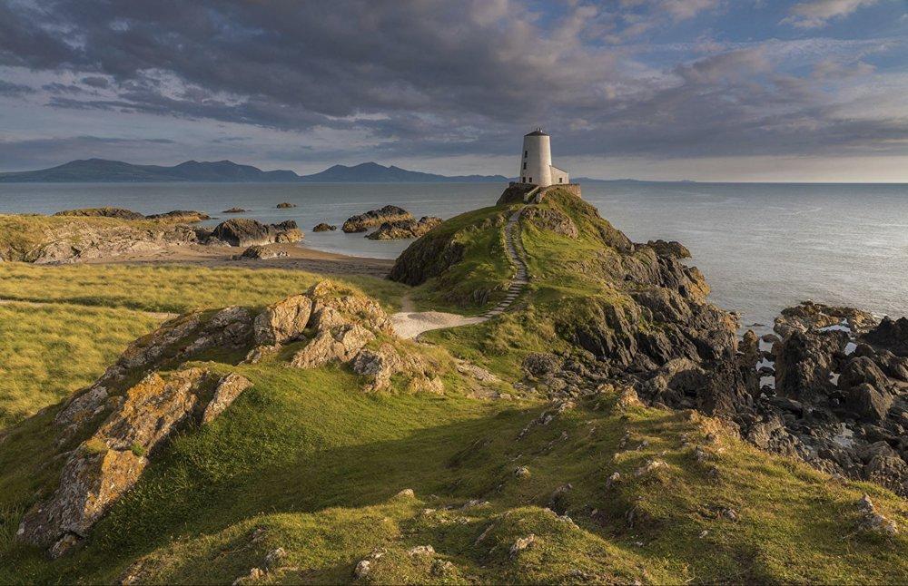 stock image - Twr Mawr Lighthouse - Llanddwyn Island