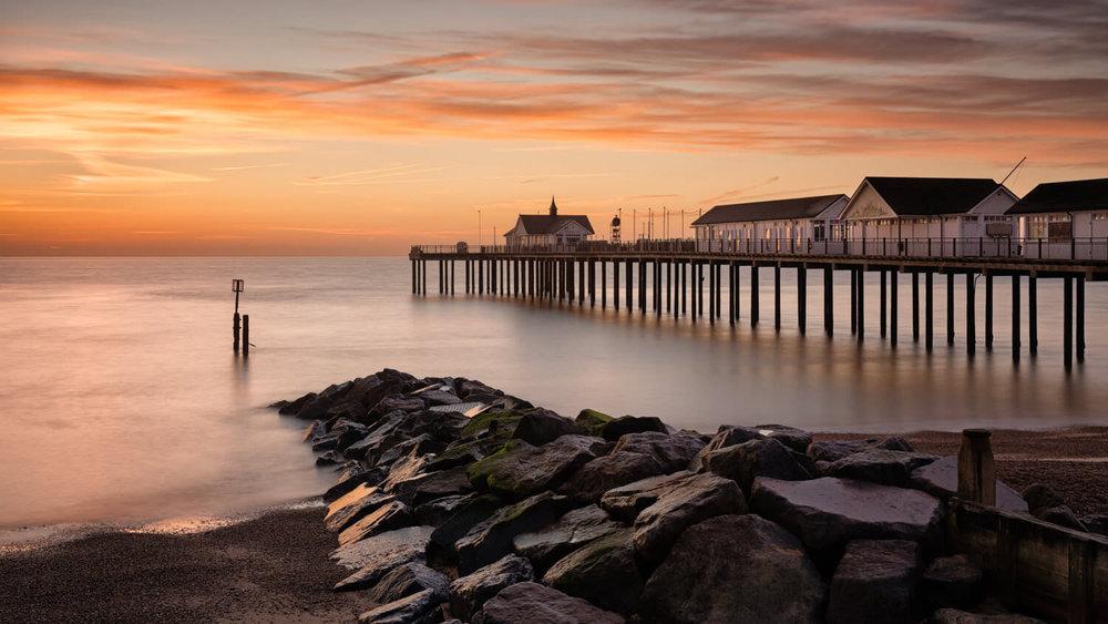 Pre-Sunrise Southwold pier