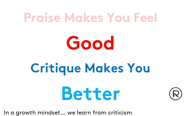 Critique is better than praise