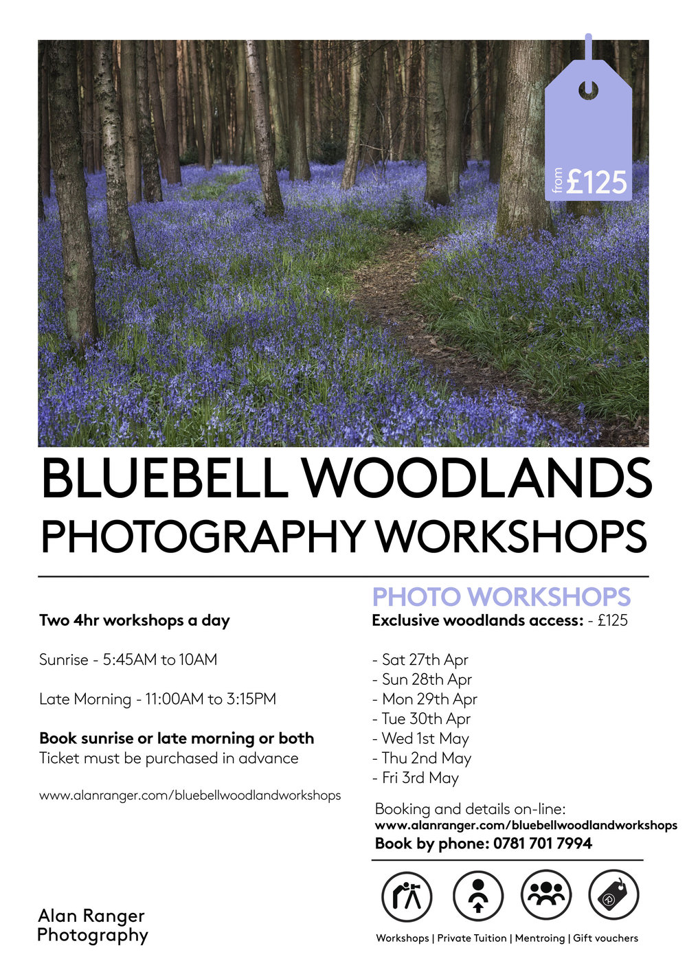 Bluebell Photography Workshops