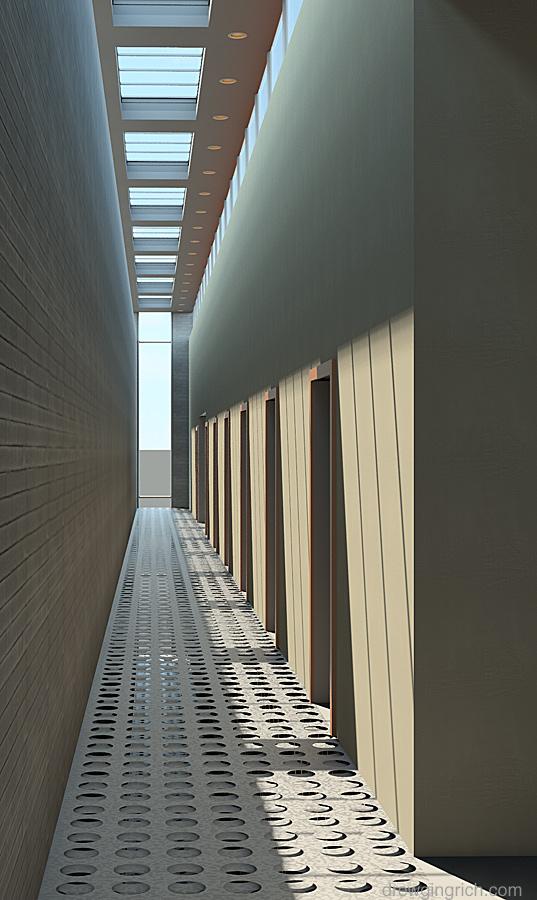 Third Floor Corridor