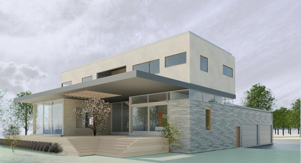 Exterior conceptual rendering.