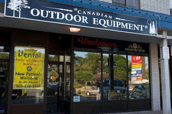 canadian outdoor equipment co mississauga added to store