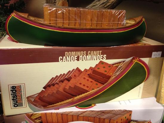 Canoe Dominoes