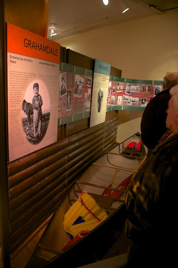 The new exhibit is fully interactive and you can paddle in a 'Camp Kandalore' canoe