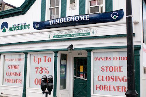 Farewell to Tumblehome