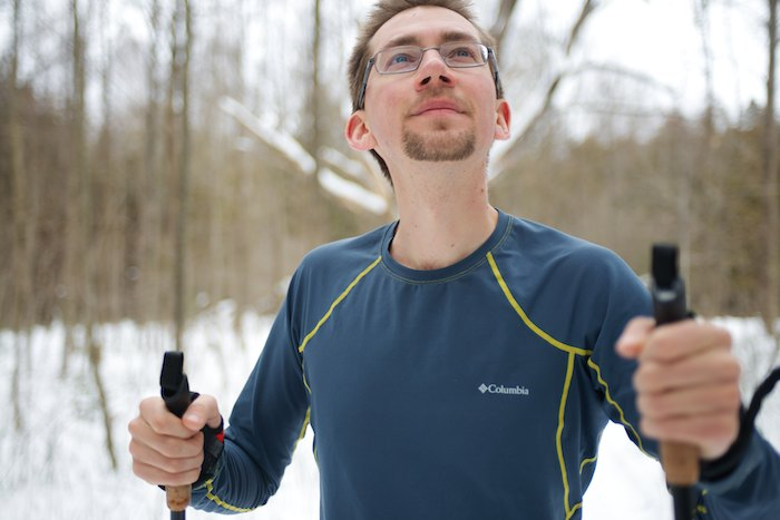 The perfect baselayer for Cross Country Skiing