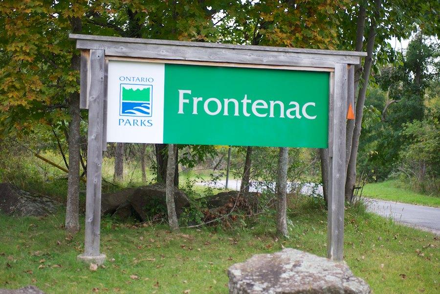 FrontenacProvincialParkSign.jpg