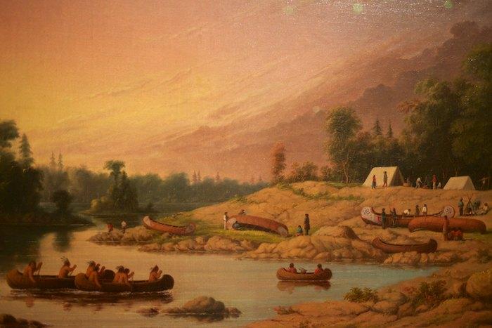 Encampment, River Winnipeg