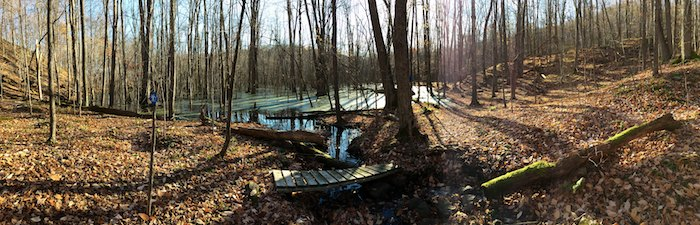 No bugs, beautiful leaves, great temperatures. You can't beat Fall hiking