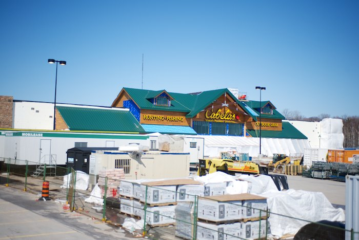 The Barrie, Ontario store which is currently under construction