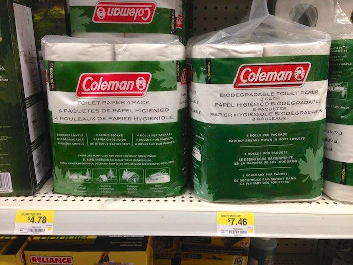Coleman Biodegradable Toilet Paper