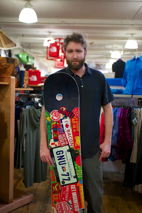Check out this favourite piece of gear.. the Gnu Smart Pickle Canadian Edition Snowboard at Wild Rock