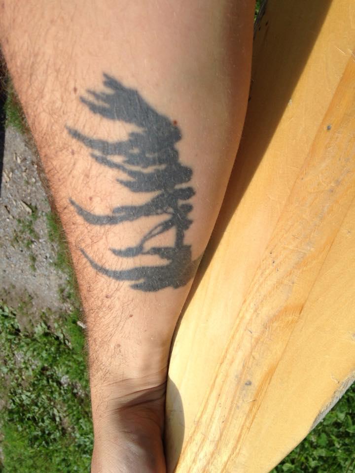 trail mix canoeing tattoos traversing