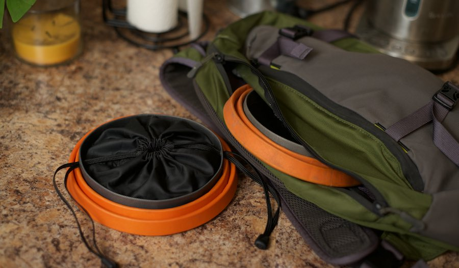 You can easily bring the Bivy Cinch along with you in a daypack