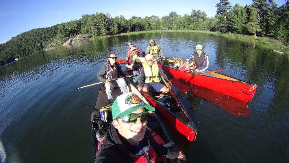 Hailey Sonntag fromWild Canoes On Baie Finn in Killarney Provincial Park in Ontario