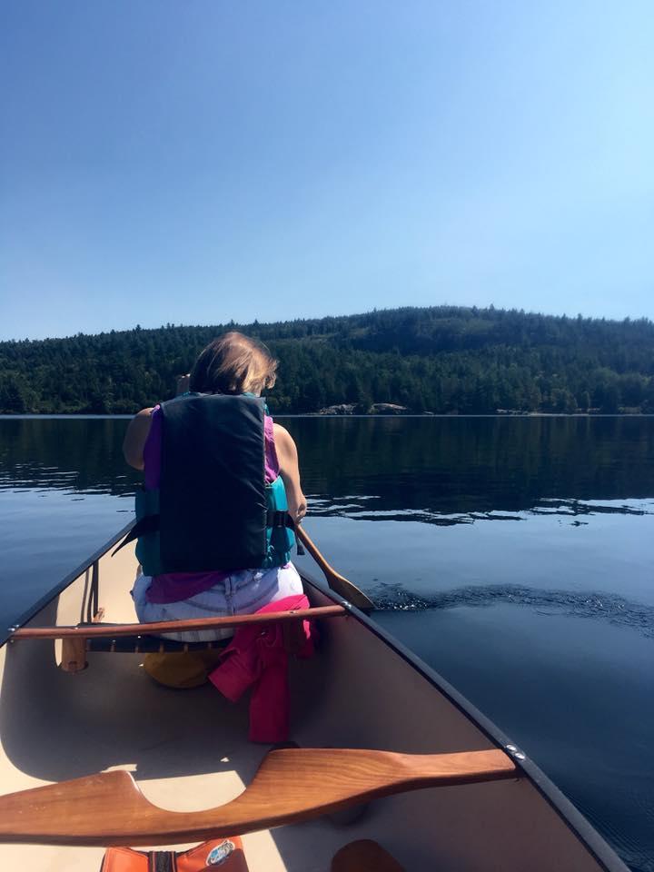 Rick Merriman -Lake of two Rivers in Algonquin Park, Ontario