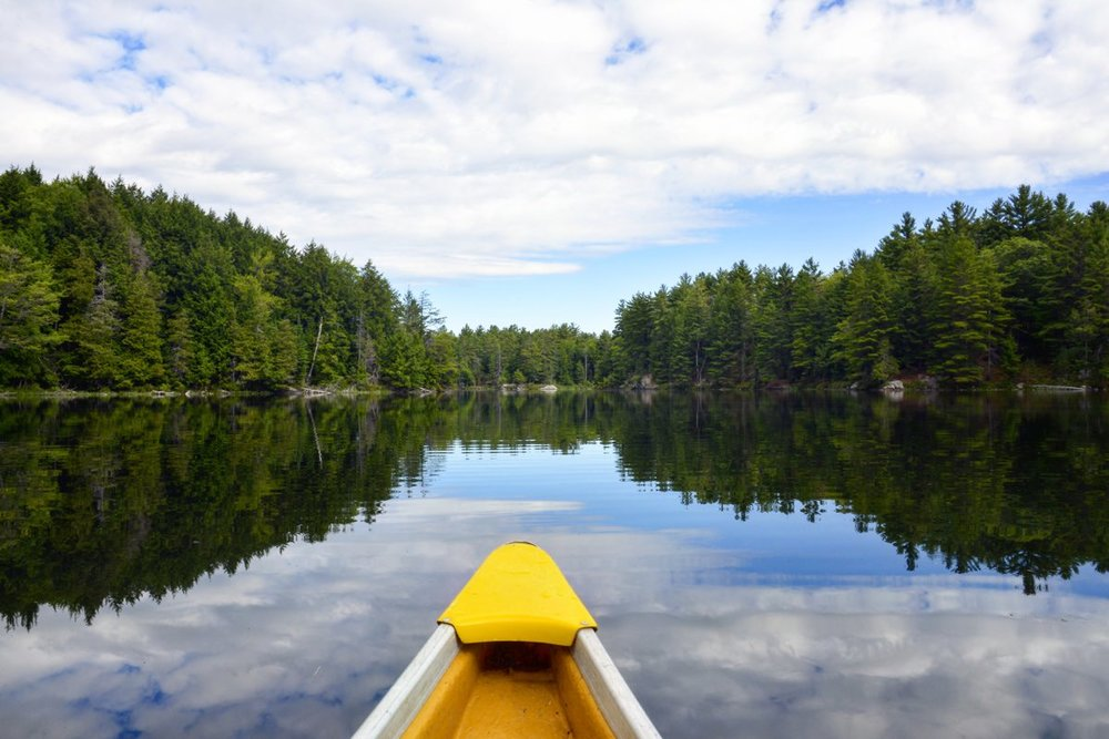 Alexander Renaud - Paddling Miss Daisy at Silent Lake Provincial Park in Ontario