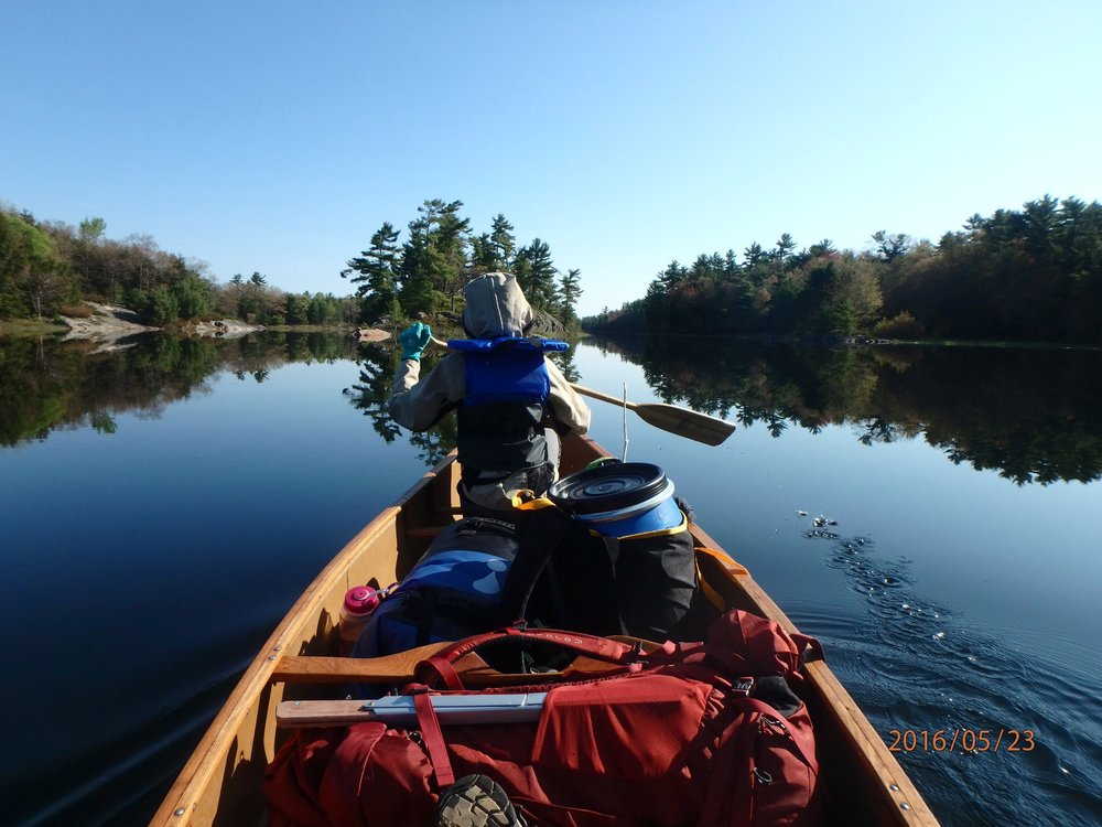 Joyanne Beckett - Mom and daughter trip at Massasauga Provincial Park in Ontario