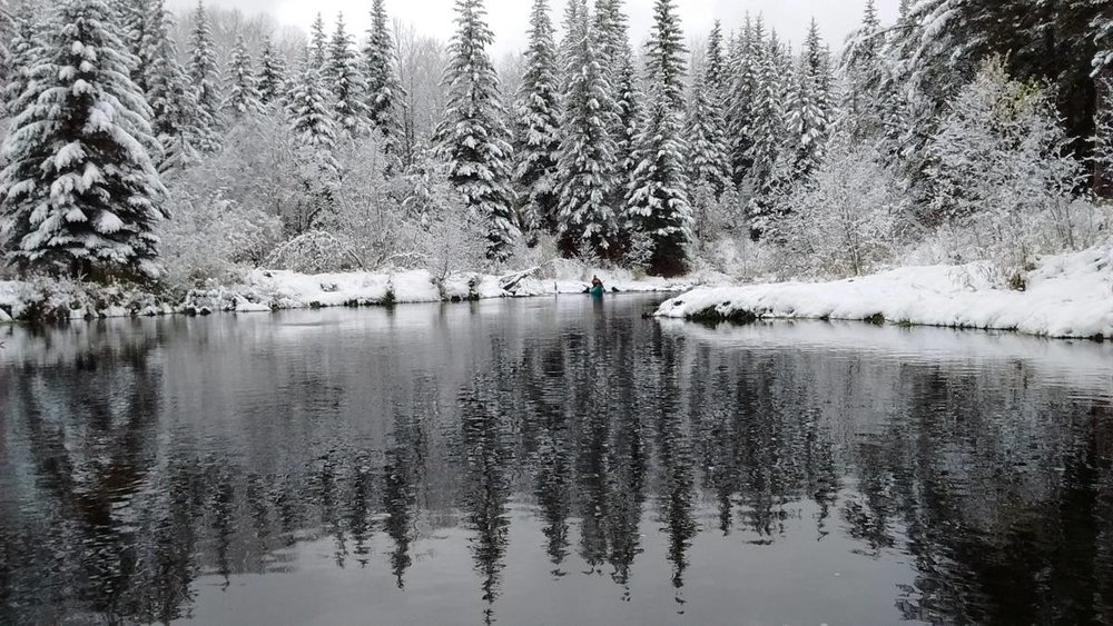 Richard Golonka -Calling River in Northern Alberta